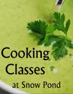 Cooking Classes at Snow Pond