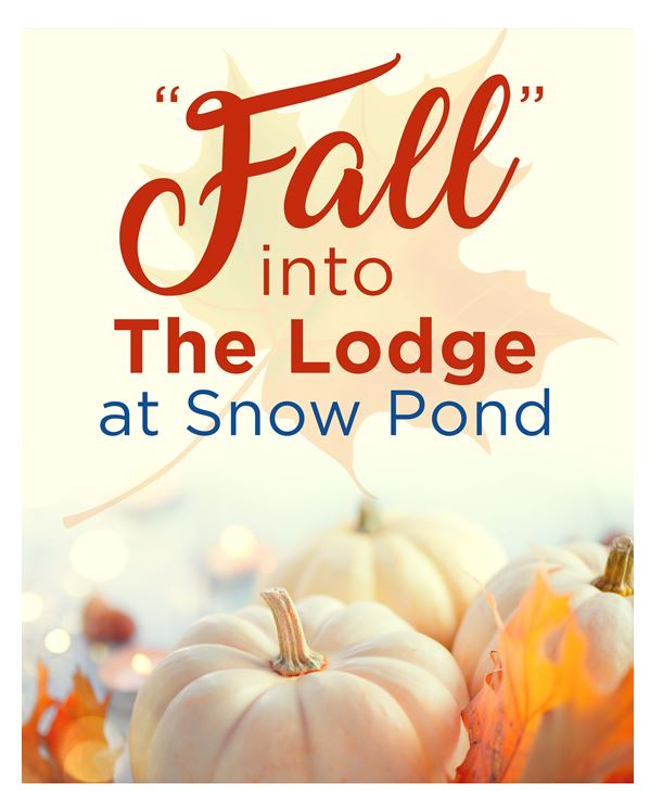 Fall into the lodge